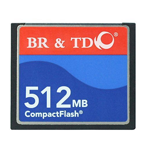 Compact Flash Memory Card 512MB use for Camera BR & TD Top Brand