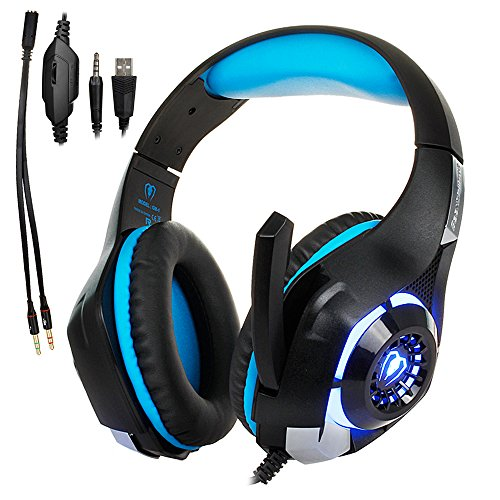 51DXmSQ31oL - Gaming-Headset-for-PS4Tezewa-Xbox-One-Gaming-HeadsetPC-Gaming-HeadsetStereo-PS4-Headphones-with-MicLED-Gaming-Headphones-With-Microphone-for-Xbox-One-PSP-Netendo-DS-PC-Tablet-iPhone8-X-iPad