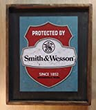 Smith & Wesson - Wooden Sign