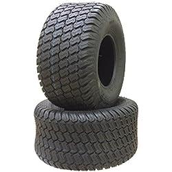 2 New 20x10-8 Lawn Mower Cart Turf Tires P332 /4PR - 13040