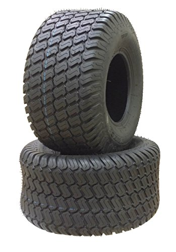 (2 New 18x9.50-8 Lawn Mower Utility Cart Turf Tires P332 -13032)