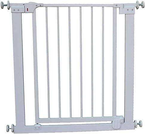 Ancho de la Puerta de Seguridad para niños 75-81 cm Escalera Puerta de la Cerca de Seguridad sin perforar Función de Cierre automático (Tamaño : Cylindrical Installation): Amazon.es: Hogar