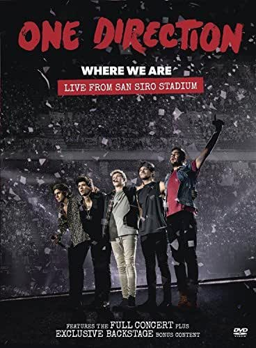 Where We Are: Live From San Siro Stadium by One Direction