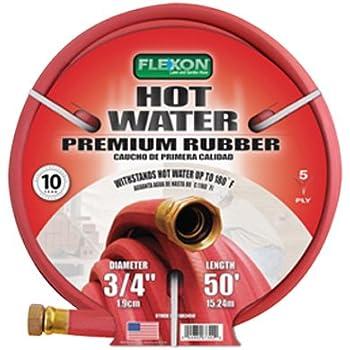 3 4 inch garden hose. Flexon FAR3450 3/4-Inch X 50-Foot Heavy Duty Premium Farm \u0026 3 4 Inch Garden Hose M