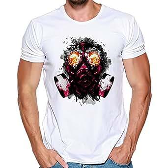 waotier Camisetas Hombre Manga Corta Moda De ImpresióN ...