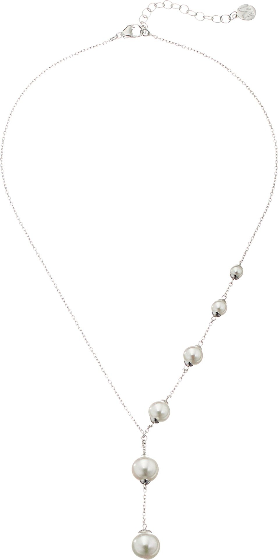 Majorica Lucy Y-Shaped Necklace