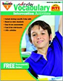 Everyday Intervention Activities for Vocabulary Grade 3, Glassman, Jackie, 1607191326
