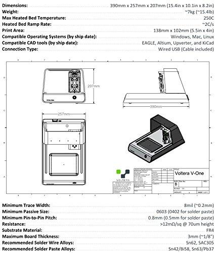 Voltera V-One Circuit Board Prototyping Machine: Amazon ca
