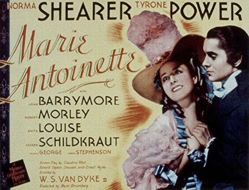 Marie Antoinette, Norma Shearer, Tyrone Power, 1938 - Premium Movie Poster Reprint Unframed
