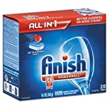 RECKITT BENCKISER PROFESSIONAL Powerball Dishwasher Tabs, Fresh Scent, 20/Box (77050)