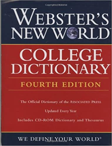 Amazon Com Webster S New World College Dictionary Fourth