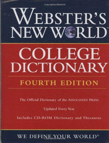 Webster's New World College Dictionary, Fourth Edition...