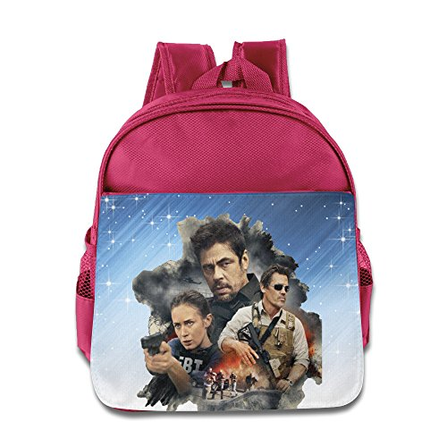 Price comparison product image Boomy Sicario Poster Kids' Backpack For 3-6 Years Old Kids Pink Size One Size