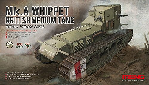 Meng 1/35 Mk.A Whippet British Medium Tank for sale  Delivered anywhere in USA