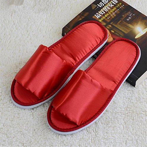 pantofole Pantofole aperte pantofole antisdrucciolevoli pantofole di cotone  di cotone Hotel cinque stelle hotel cotone non