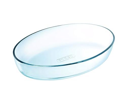 Pyrex Fuente de Horno, Cristal, 21 x 13 cm
