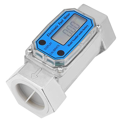 Mini Digital Turbine Flowmeter Diesel Kerosene Gasoline Fuel Flow Meter 15-120L 1.5inch NPT - Mechanical Flow Meter