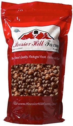 Gourmet Milk & Dark Chocolate covered Espresso Beans, Hoosier Hill Farm (2 lb Bag)