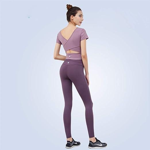 MODYL Ropa de Yoga, Traje de Deporte Femenino Apretado Flaco ...