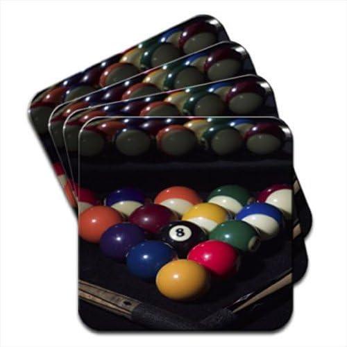 Juego de bolas de billar listo para jugar con tacos de 4 posavasos ...