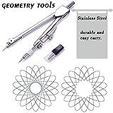 7 Piece Geometry School Set,with Quality