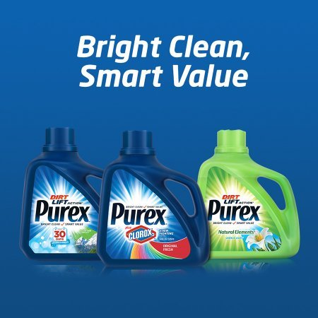 PACK OF 6 - Purex Liquid Laundry Detergent, Free & Clear, 150 Fluid Ounces, 100 Loads by Purex (Image #3)
