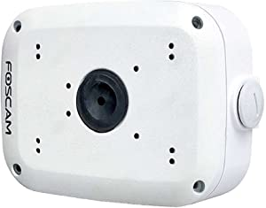 Foscam FAB28 Cable Cover Box Compatible for Fi9928P and Fi9828P IP Cameras, White