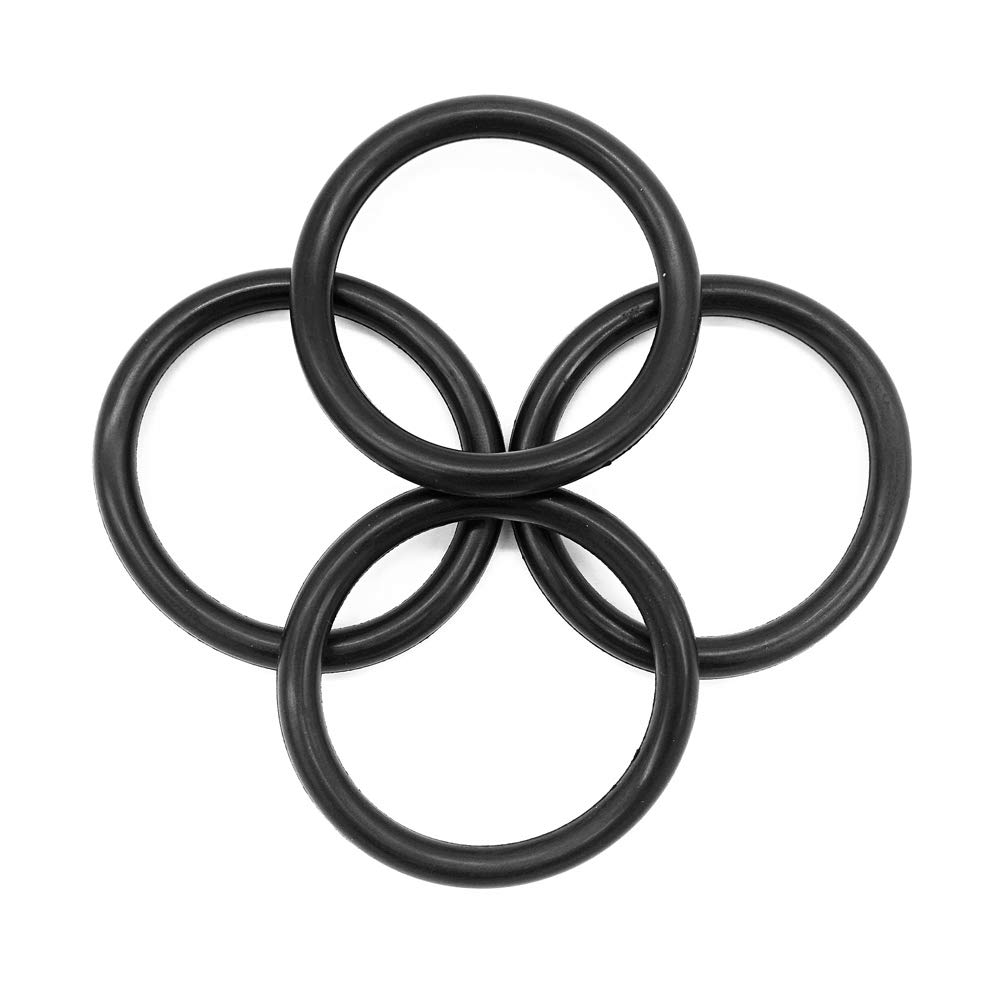 Pack of 4 Universal Bumper Fender Quick Release O Rings Fasteners Gaskets Grommets Vautoparts Rubber Bands O Rings