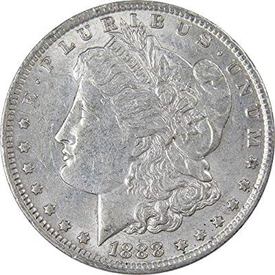 1888 O $1 Morgan Silver Dollar US Coin AU About Uncirculated