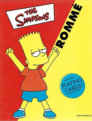 Los Simpson - juego de cartas de Rummy: Amazon.es: Juguetes y juegos