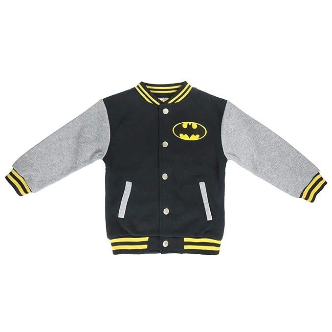 Cerdá Batman - Chaqueta Gris, Negra para niño