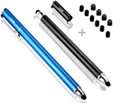 B&D Universal Capacitive Stylus Pen 2-in-1 Styli Touch Screen Pen for Apple iPad,iPhone,iPod,Tablet,Galaxy, LG&HTC (Black/Blue)