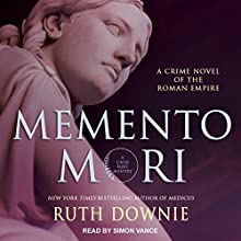 Memento Mori: Roman Empire Series, Book 8 Audiobook by Ruth Downie Narrated by Simon Vance
