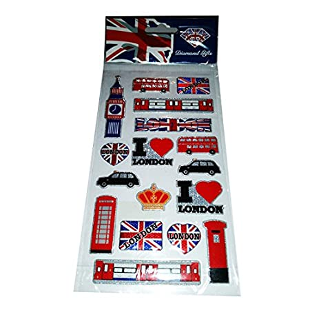 I Love London England Britain United Kingdom Sticker Set UK Souvenir! Souvenir / Speicher / Memoria! Highly Collectible Stickers, Every London Icon Represented! Fun, Exciting British UK Collectible Souvenir! A Unique and Educational Souvenir! Autocollants / Aufkleber / Adesivi / Pegatinas! 51DXsy2RlvL