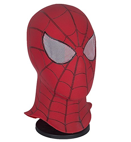 (Yacn Spider-Man Homecoming - Spiderman Hood Mask Comics Hero Headgear Costume Cosplay for Adult and Teens (one Size, mask))
