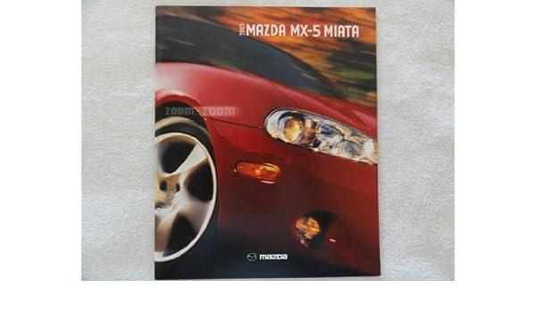 Amazon.com : 2003 MAZDA MX-5 MIATA PRESTIGE COLOR SALES BROCHURE - 8/02 - USA - EXCELLENT IN FACTORY ENVELOPE!! : Brochure Paper : Office Products