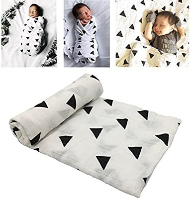 Manta de algodón para bebé y niños pequeños (Modelo Triangular ...