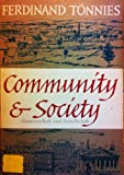 Community and Society, Ferdinand Tonnies, 0061311162
