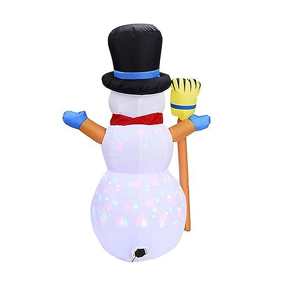 Amazon.com: Muñeco de nieve SamXmas para decoración de patio ...