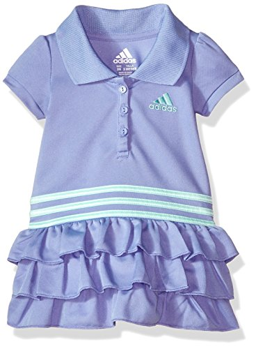 adidas Baby Girls Active Polo Dress, chalk Purple Adi, 18M - Adi Dress