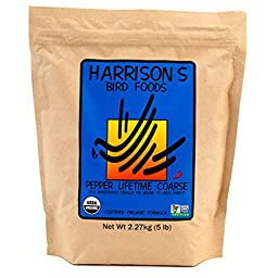 Harrison\'s Pepper Lifetime Coarse 5lb …