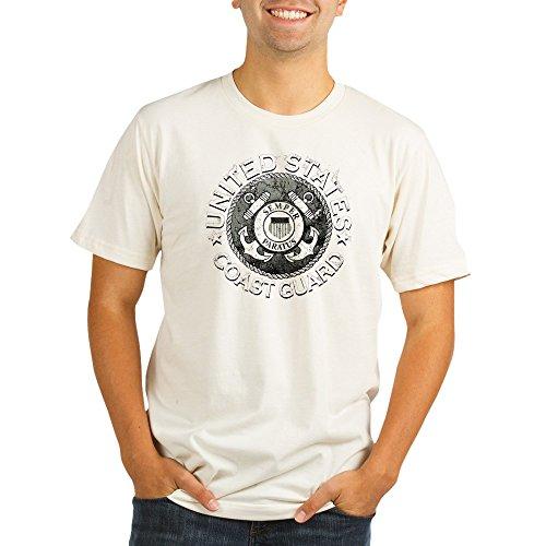 Royal Lion Organic Men's Fitted T-Shirt US Coast Guard Semper Paratus Emblem - XL - Coast Guard Fitted T-shirt