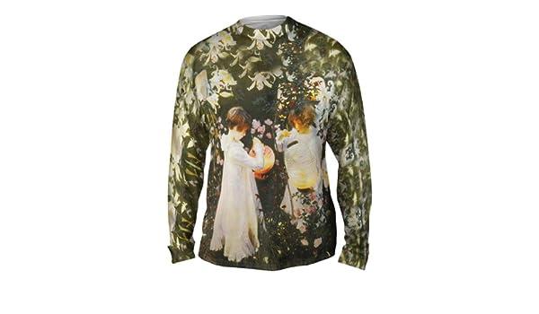Carnation Lil Yizzam Mens Long Sleeve 1521 John Singer Sargent