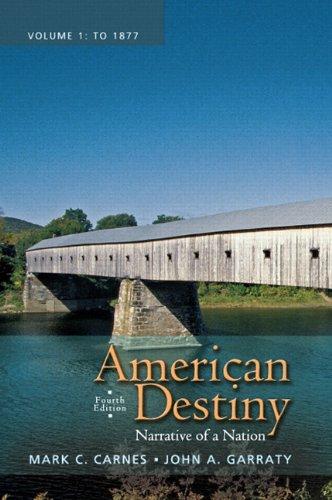 American Destiny,Vol.I Text