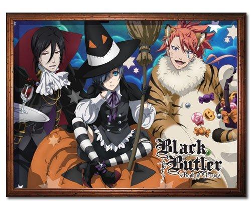 GE Animation GE-57687 Black Butler Book of Circus Halloween Throw Blanket, 46
