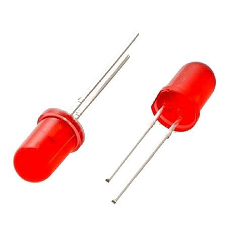 25 X rojo 5mm Led Diodo Bombilla de luz