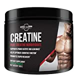 Pure Creatine Monohydrate Powder – Optimum Muscle Builder for Serious Mass and Power Output + Promotes Rapid Recovery by Bro Labs & Brandon Carter For Sale