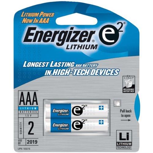 Energizer E2 Lithium L92bp-2 Lithium Aaa 2Pk Battery