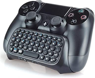 PS4 Teclado Controlador - Playstation 4 PS4 Bluetooth Wireless Mini Teclado / Chatpad para Dualshock®4 Controlador: Amazon.es: Videojuegos