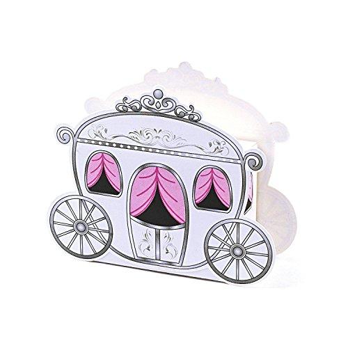 CraftbuddyUS 12 Mini Carriage Treat Boxes
